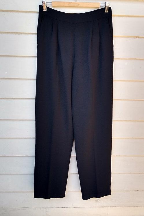 St. john Black Pants, Size 8/10
