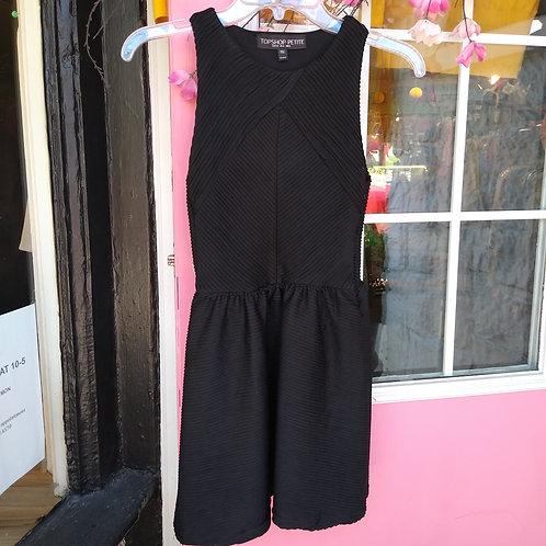 TopShop Black Dress, Size 0/2