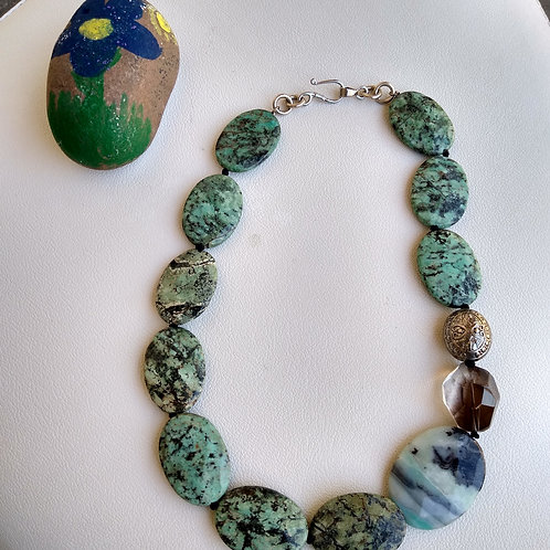 Green Stone Necklace