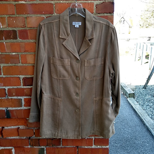 Democracy Tan Jacket, new with tags, Size M