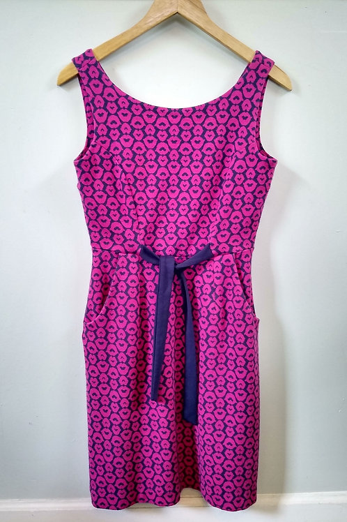 Lilly Pulitzer Blue & Pink Dress, Size S