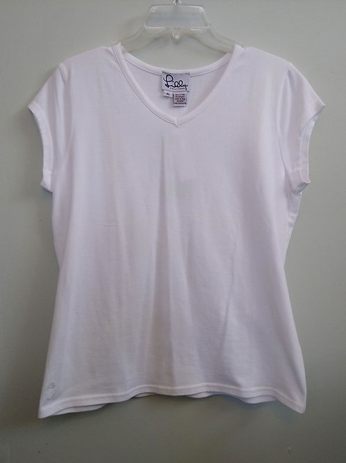 Lilly Pulitzer White Top, new with tags, Size XL