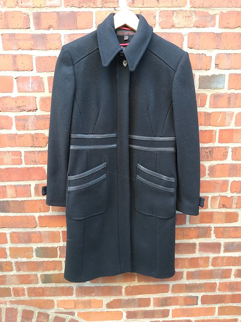 Via Spiga Black Coat, Size 2
