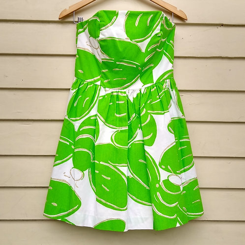 Lilly Pulitzer Green Dress, Size 6