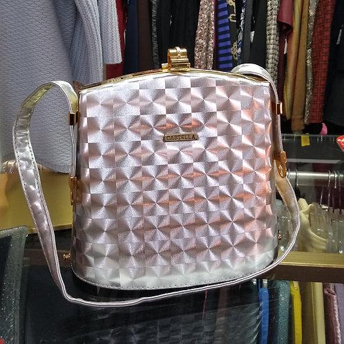 Castella Vintage Silver Bag