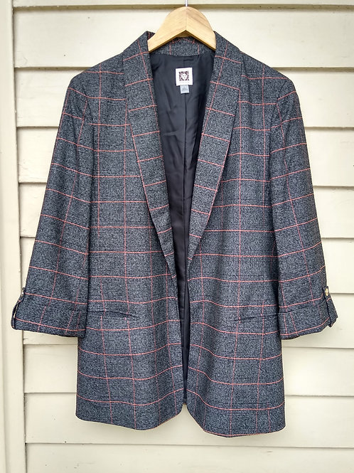 Anne Klein Grey Jacket, Size L