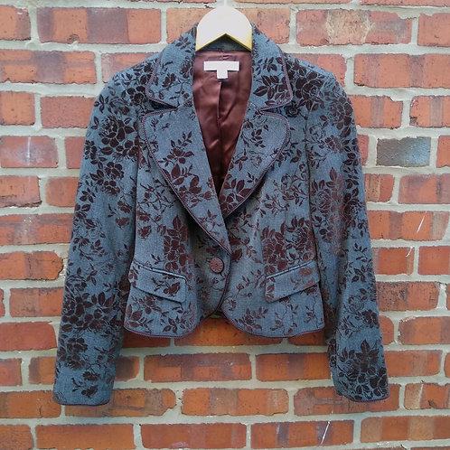 Caslon Grey Jacket, Size 2P