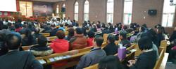 은정감리교회 내부
