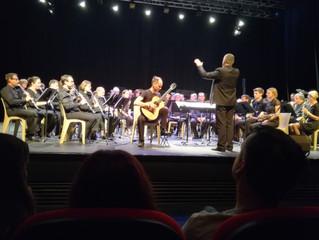 Avec l'orchestre du conservatoire de Cournon, 23/03/2019