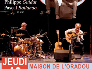 En concert avec Pascal bientot !