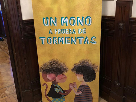 Presentación de ¨Un mono a prueba de tormentas¨, el nuevo libro de Paula Moreno