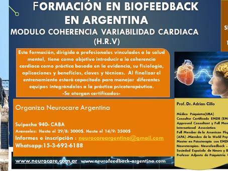 Biofeedback de la Coherencia / Variabilidad Cardiaca