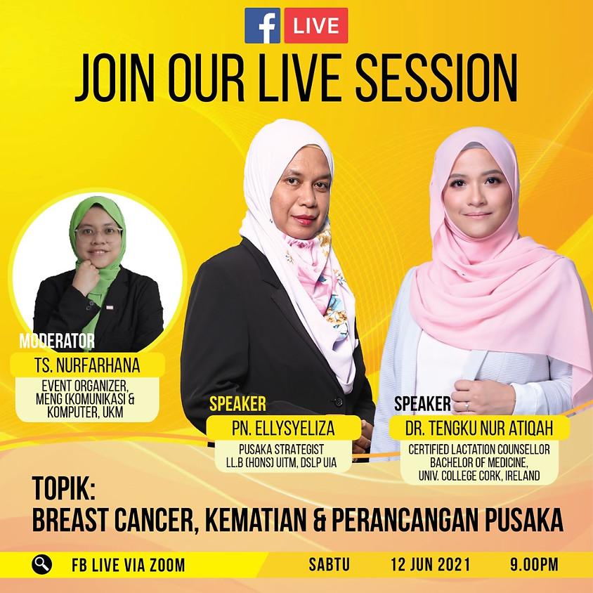 Breast Cancer, Kematian dan Perancangan Pusaka