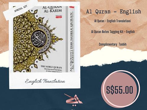Al Quran English + Tag Kit