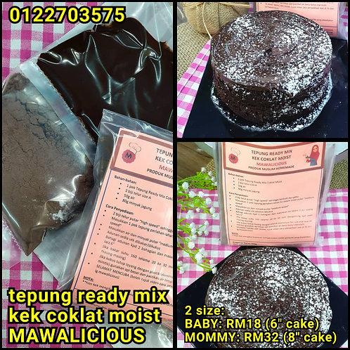 Tepung Ready Mix Kek Coklat Moist (Baby)