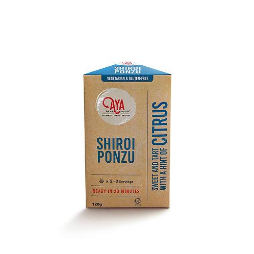 Shiroi Ponzu (120g)