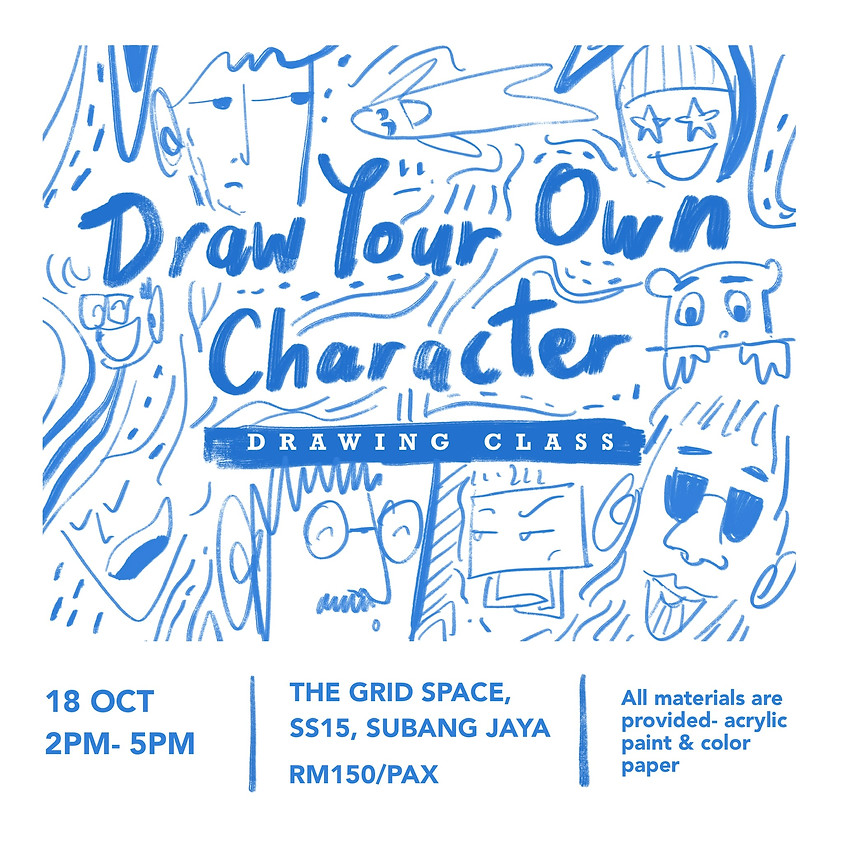 Draw Your Character by Jaie Ramlee
