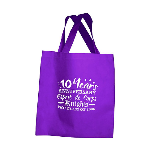 Knights 10 Years Anniversary Woven Bag
