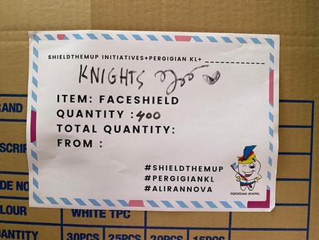 #shieldthemup initiative Delivered!