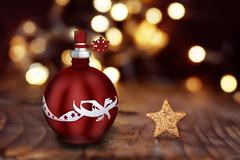 christmas sphere bottle