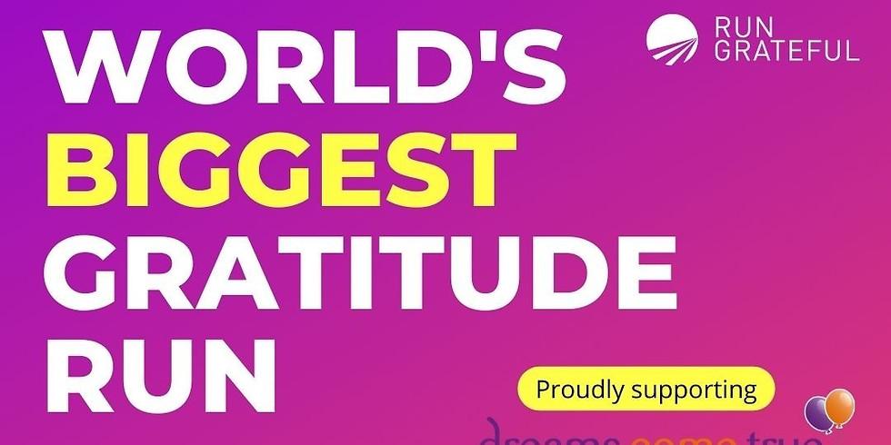 The World's Biggest Gratitude Run/Walk