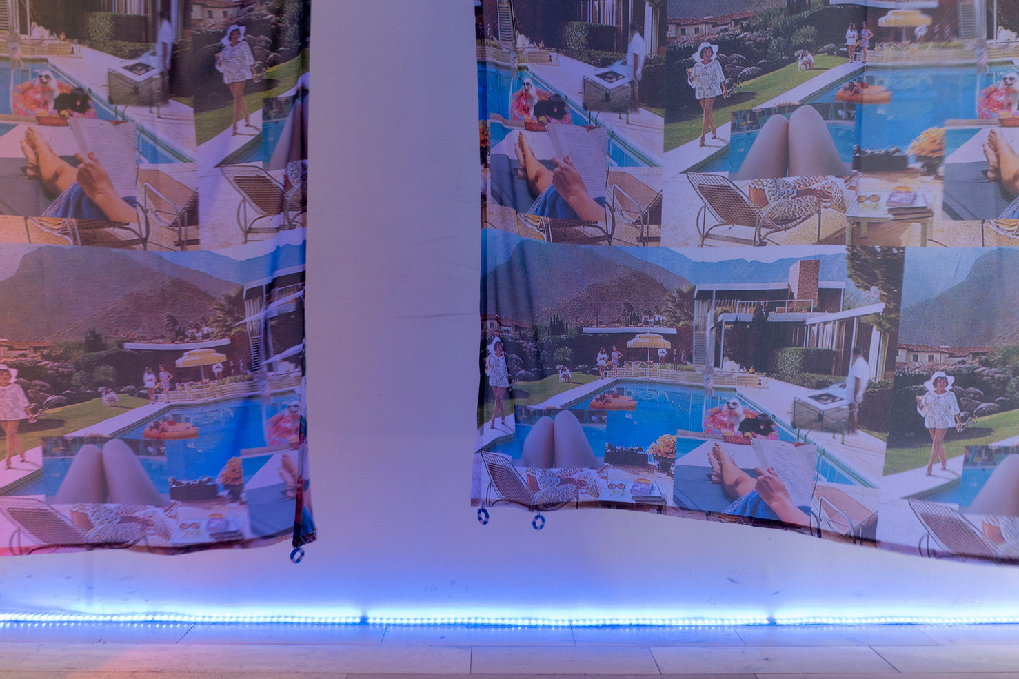 POOL DATE installation view