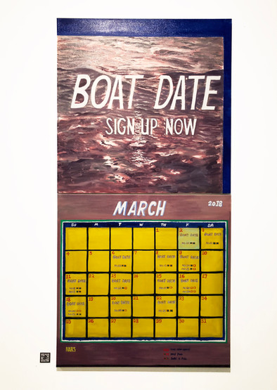 Boat Date pianting