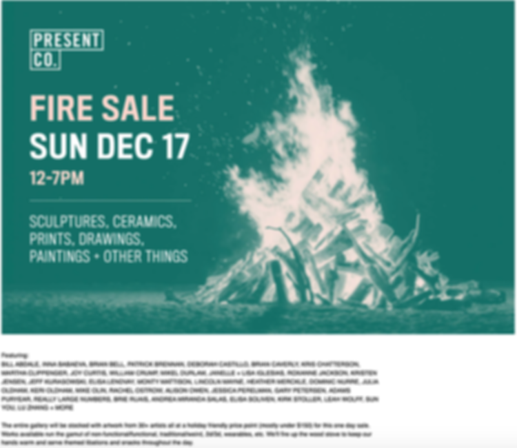 Fire Sale Present Co.