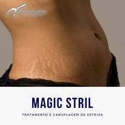 Magic Stril - Tratamento e Camuflagem de Estrias