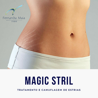 Magic Stril - tratamento e camuflagem e estrias