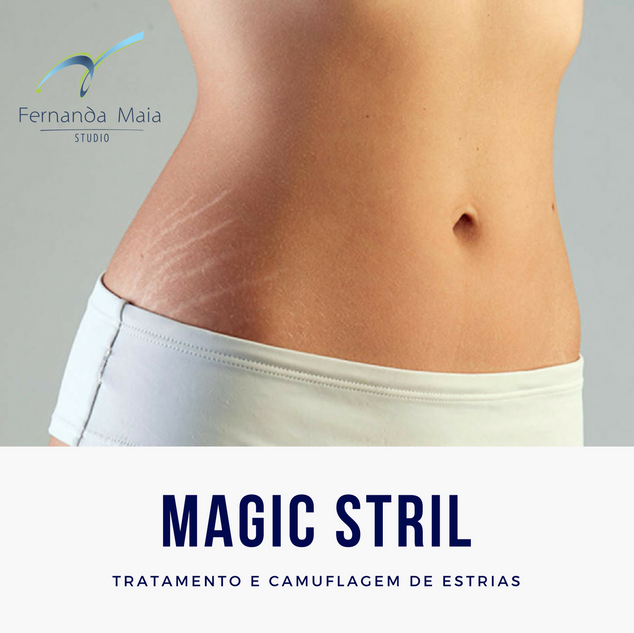 Magic Stril - Tratamento e Camuflagem de Estrias
