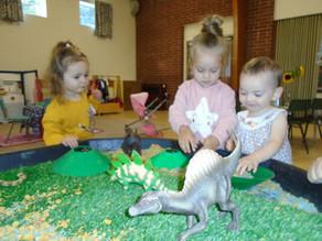 Dinosaur land small world