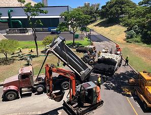 Road Builders - UH Lower Campus, Kalele