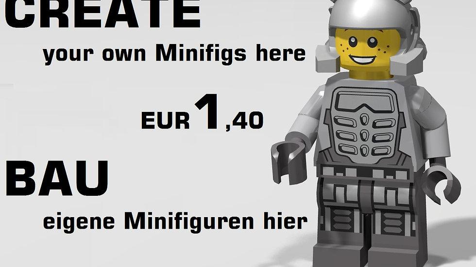 Minifigs 1,40