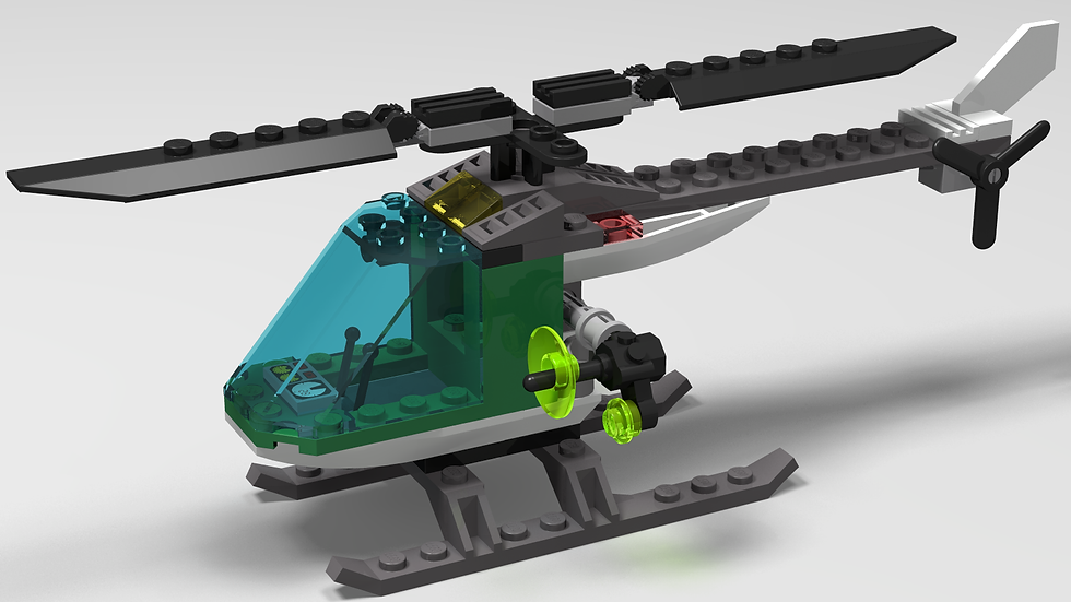 TV Helicopter P745