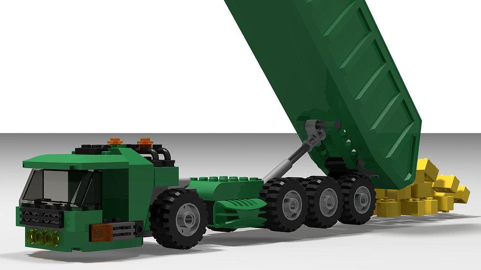 Brick Truck