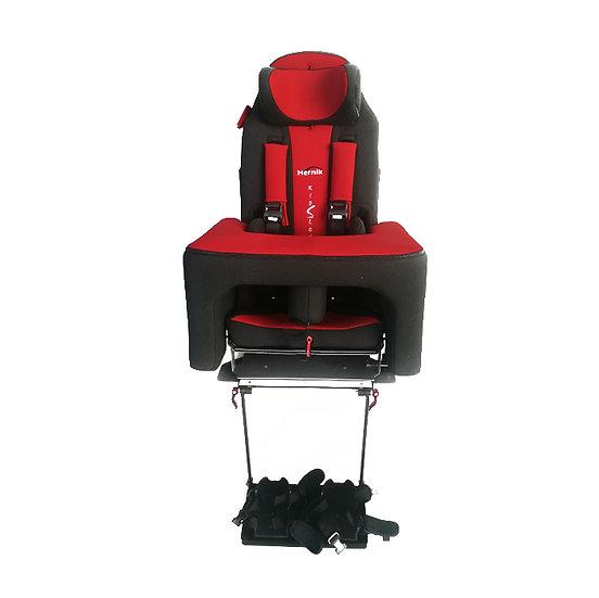 Cadeira Auto Kidsflex com tabuleiro e apoio para os pés