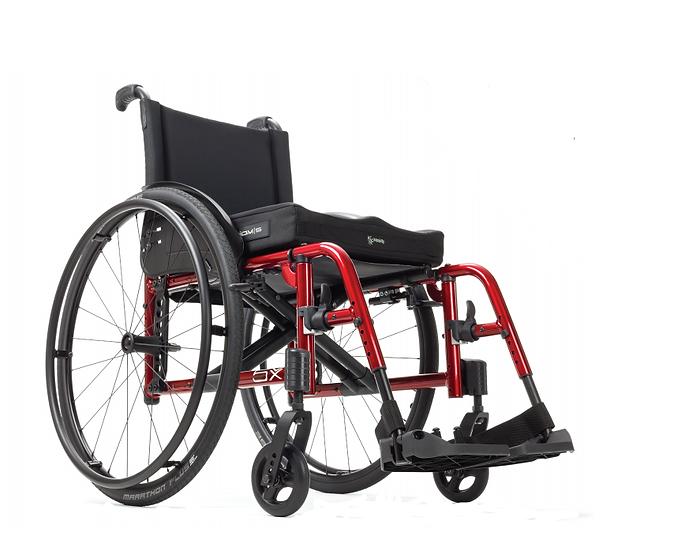 Cadeira de Rodas de Liga Ultra Leve Catalyst 5vx - patins extraíveis
