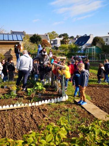 Echange avec les jardiniers du jardin de la comtesse avril 2019