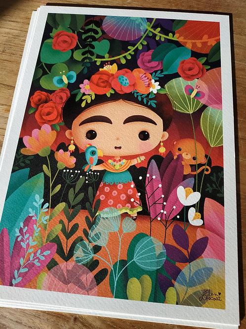 Impression sur papier d'art Frida