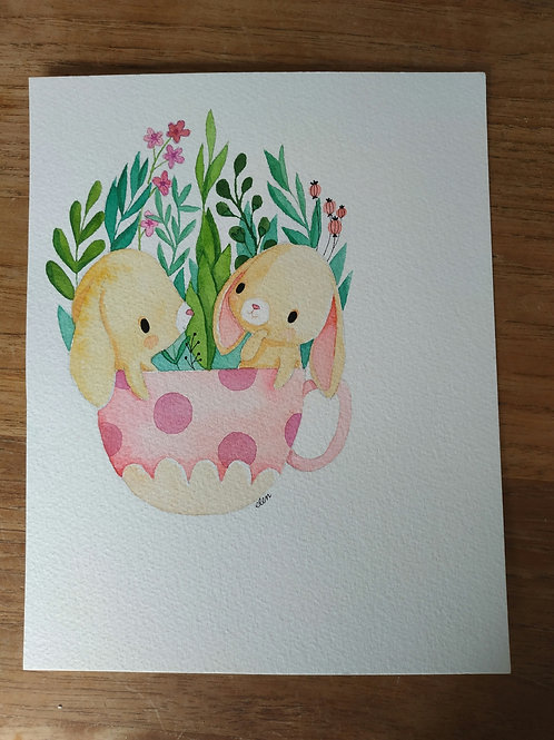 Tasse de lapins