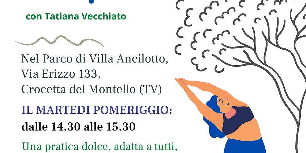 Yoga all'Aperto a Villa Ancilotto