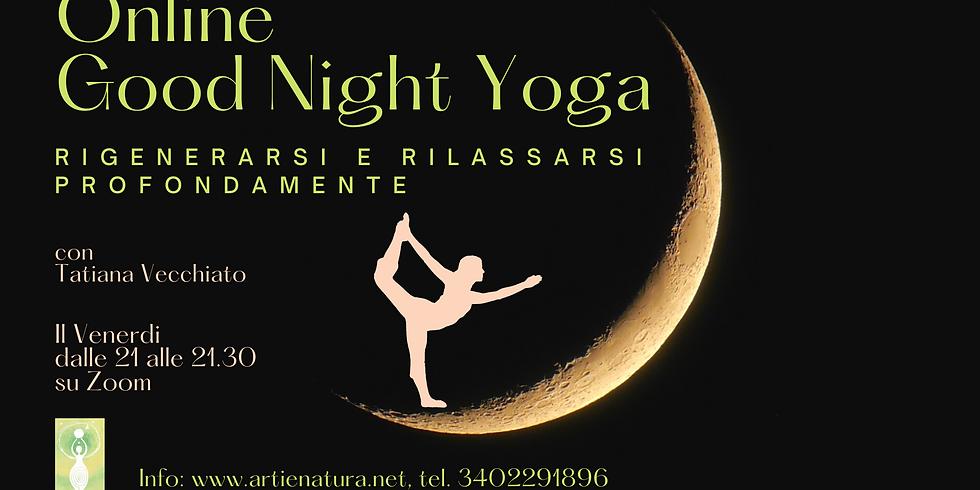 Good night Yoga - venerdi sera dalle 21.30 alle 22.15