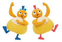 twirlywoos live on stage chickedy & chick