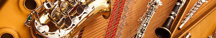 Sax, Clarinet, Harp, Oboe, Flute