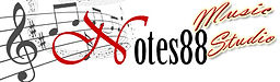 Notes88 Music Studio Logo