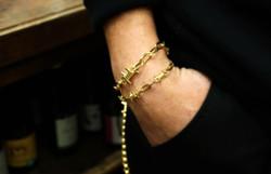 barbed wire bracelets +