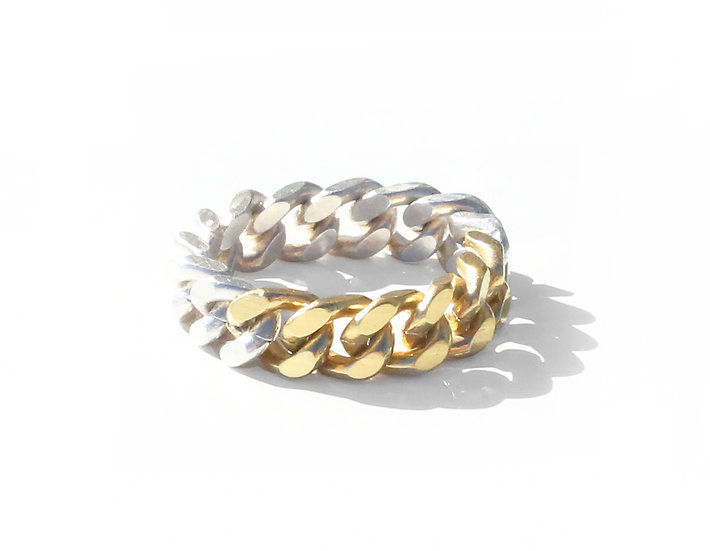 MEDIUM CHAIN RING.