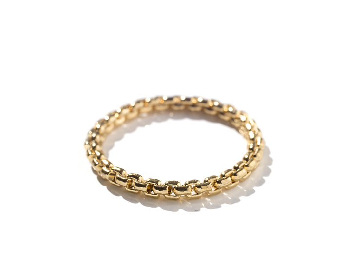 MIAMI SNAKE CHAIN RING.
