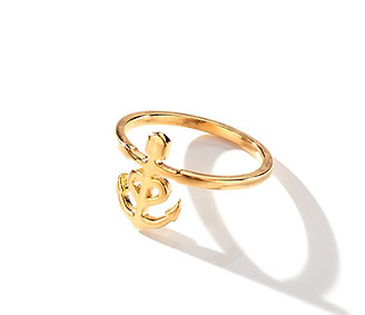 CALYPSO THIN ANCHOR RING.